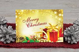 Christmas card, birthday, anniversary,