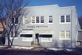 Haines Printing, offset, digital, local, experienced